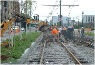 MBTA Contract A29CN01: Light Rail Accessibility Program E